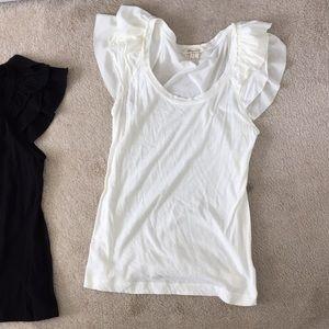 Angel sleeve ruffle T-shirts selling as a lot